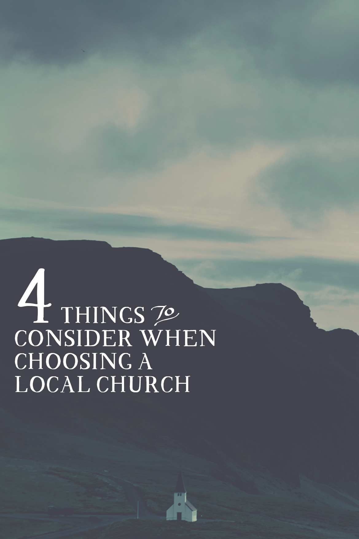 4 THINGS TO CONSIDER WHEN CHOOSING A LOCAL CHURCH - New Identity Magazine