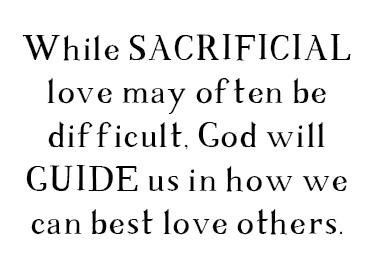 SACRIFICIAL LOVE - New Identity Magazine