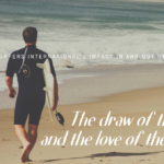 THE DRAW OF THE SURF AND THE LOVE OF THE SAVIOR