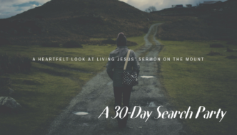 A 30-DAY SEARCH PARTY